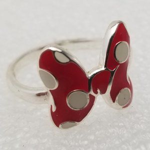 Girls Minnie Mouse Bow Ring
